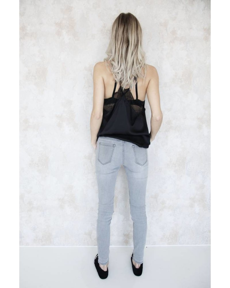 THE BASIC GREY - JEANS