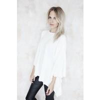 AUDREY WHITE - PONCHO