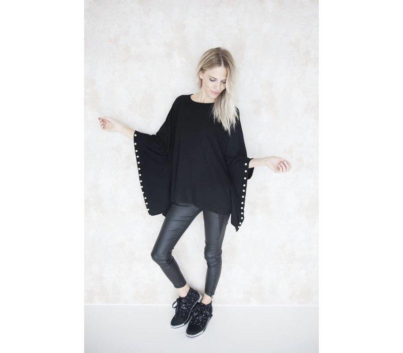 AUDREY BLACK - PONCHO