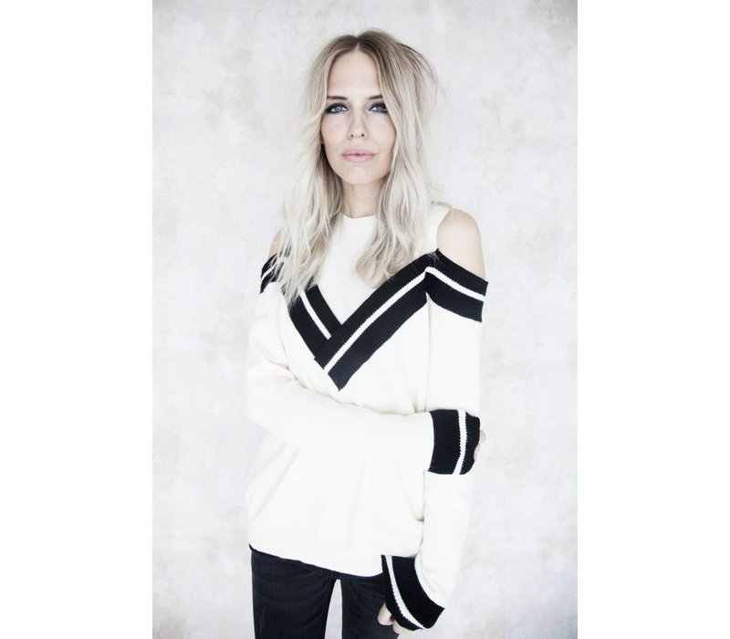 AMELY CREME - SWEATER