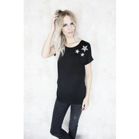 STARS IN THE SKY BLACK - T-SHIRT