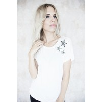 STARS IN THE SKY WHITE - T-SHIRT