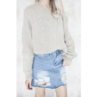 RIPPED JEANS - ROK
