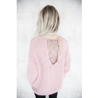 LIZY LACE PINK - TOP