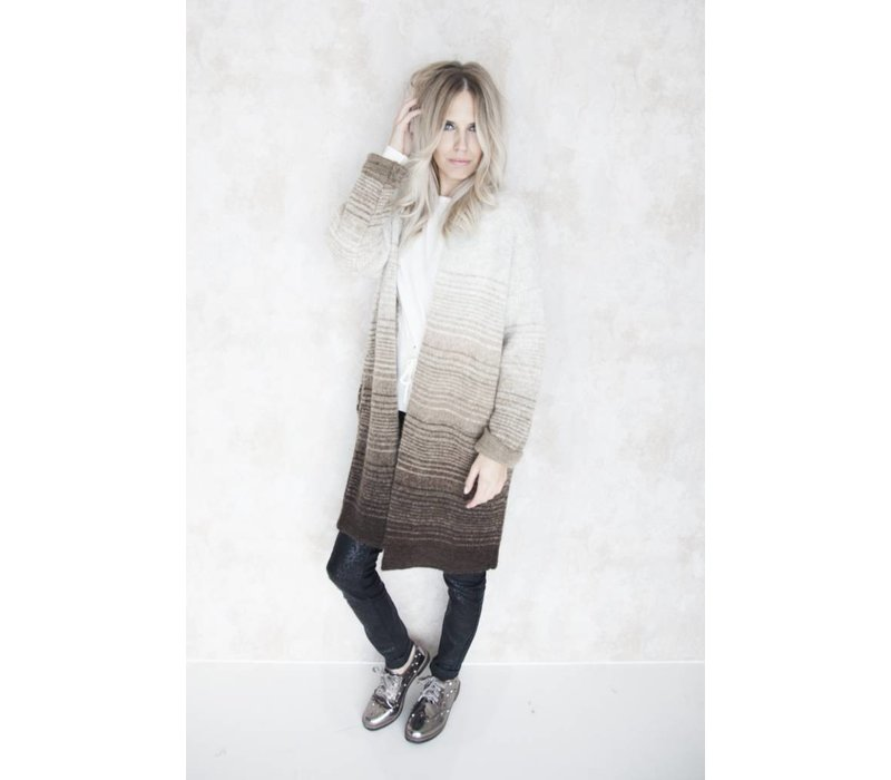 OMBRE BROWN - GILET