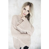 FLARED PINK - SWEATER