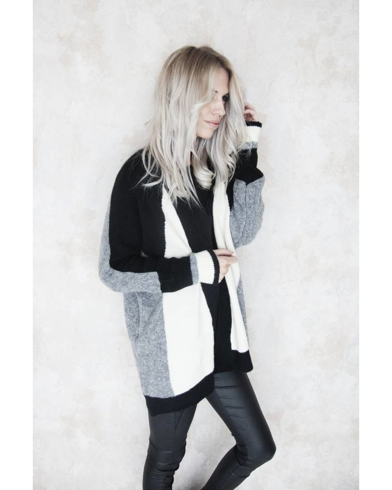 SOFT ALINE BLACK - GILET