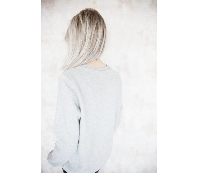 AMOUR GREY - SWEATER