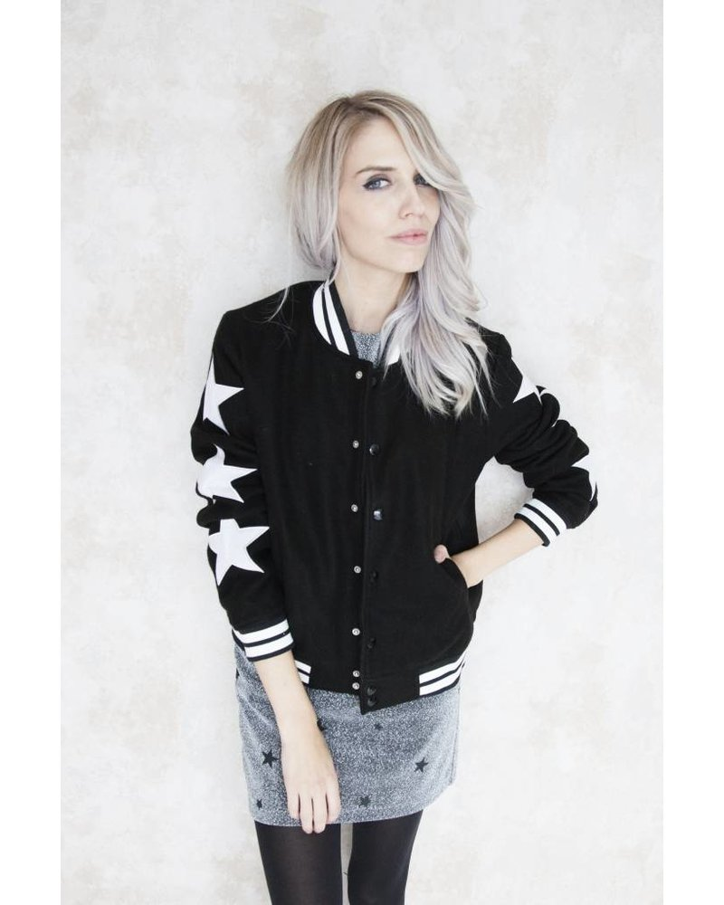 STARRED BLACK - BOMBER JACKET