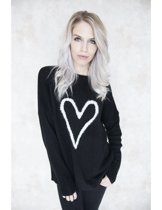 MY HEART BLACK - SWEATER