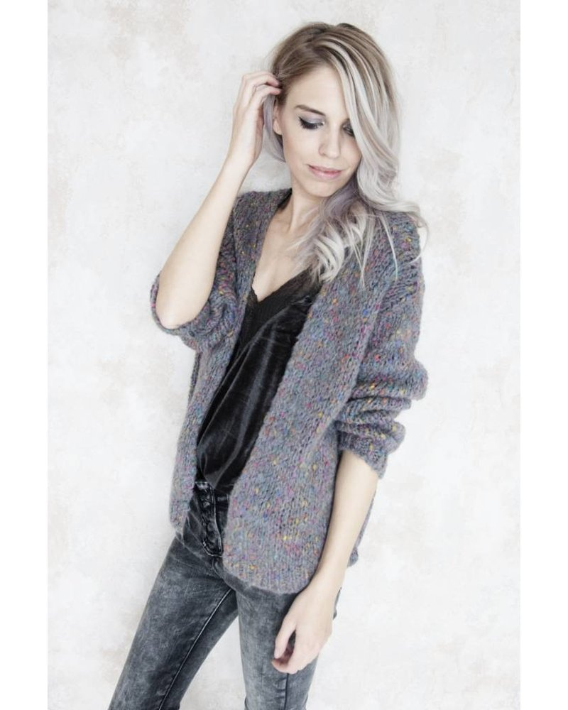 THE COLORFUL GREY - GILET