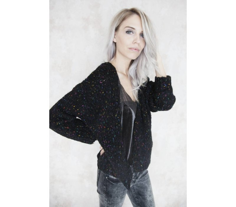 THE COLORFUL BLACK - GILET