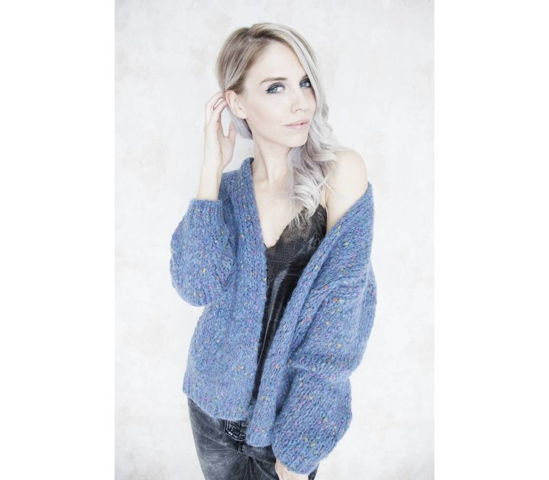 THE COLORFUL BLUE - GILET