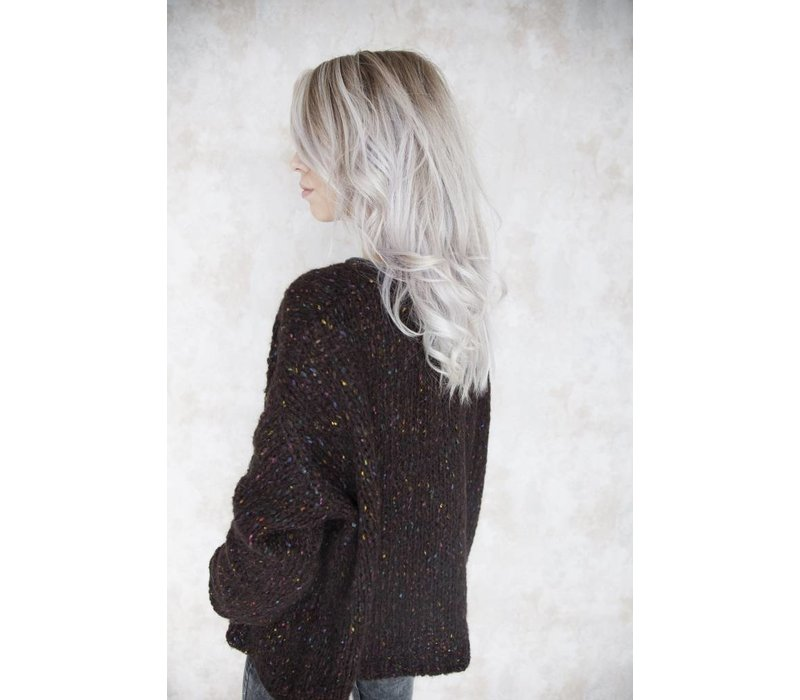 THE COLORFUL BROWN - GILET
