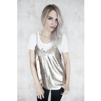 PARTY GOLD - TOP