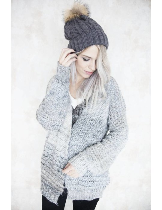 OMBRE MIXED GREY