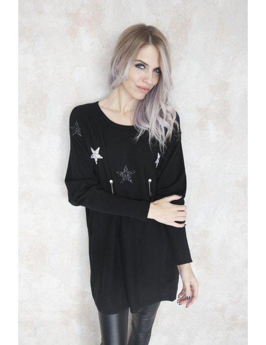 FESTIVE STAR BLACK