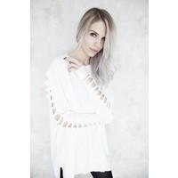 CARINE WHITE - SWEATER