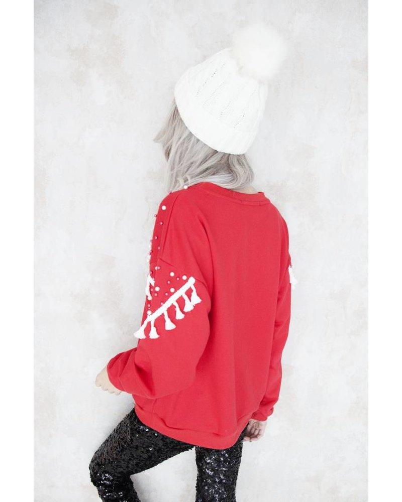 X-MAS RED - SWEATER