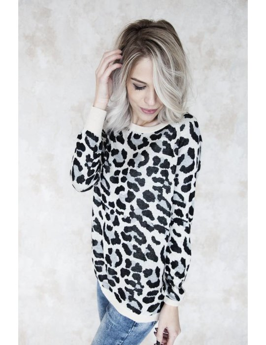 BASIC LEOPARD GREY