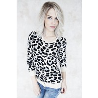 BASIC LEOPARD GREY - GILET