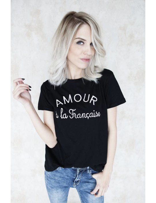 AMOUR BLACK/PINK