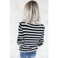 LIN STRIPED GREY - TRUI