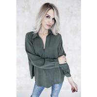 LISA KAKI - BLOUSE