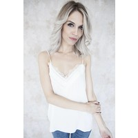 CINDY LACE WHITE - TOP