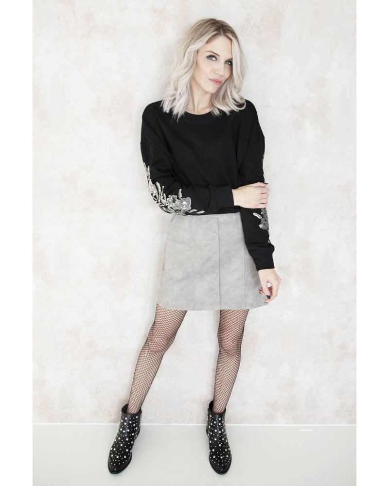 OH THIS SKIRT GREY - ROK