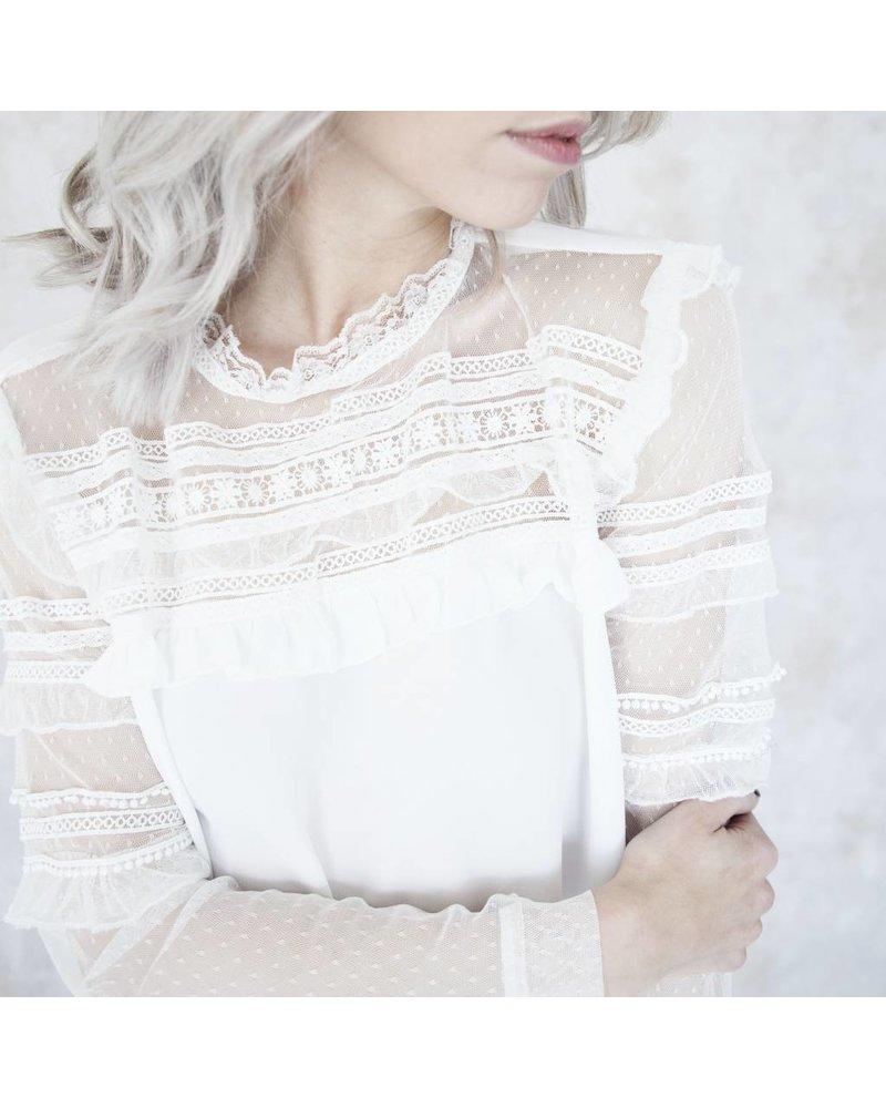 MARY WHITE - BLOUSE