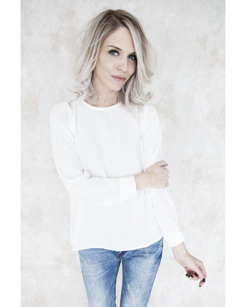 AMELIE WHITE - BLOUSE
