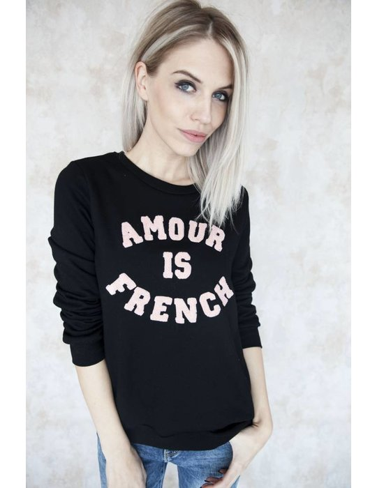 FRENCH AMOUR BLACK/PINK