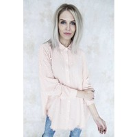 STATEMENT PEARLS PINK - BLOUSE