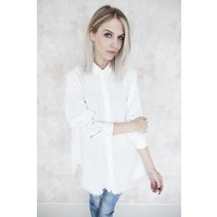 STATEMENT PEARLS WHITE - BLOUSE