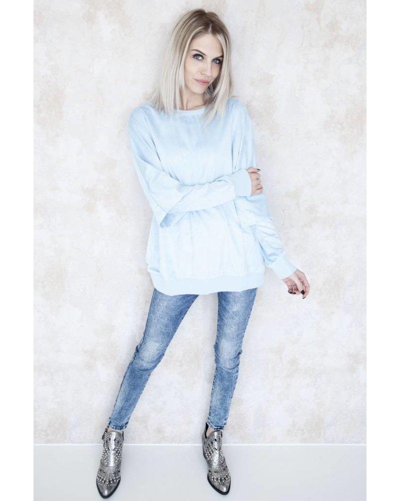 LORENA BLUE - SWEATER