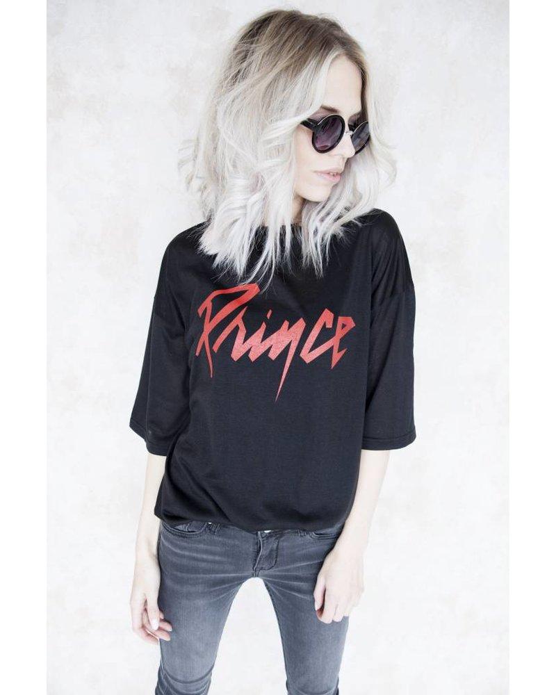 PRINCE BLACK - T-SHIRT