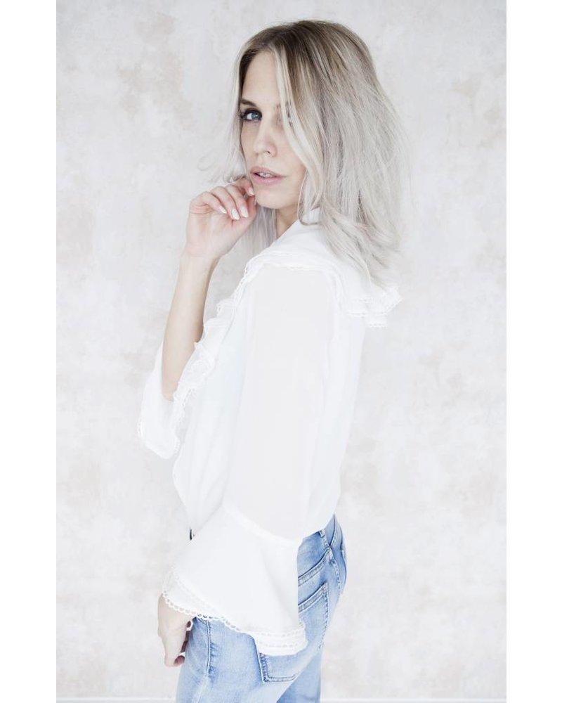 CLAIRE WHITE - BLOUSE