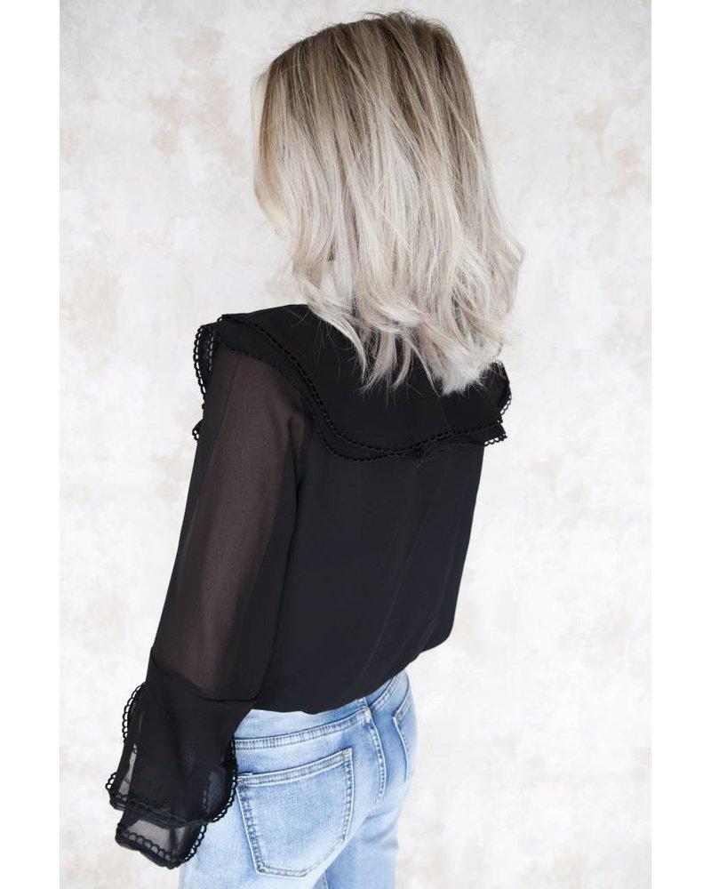 CLAIRE BLACK - BLOUSE