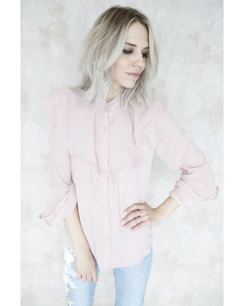 CLAIRE PINK - BLOUSE
