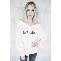 LAZY LADY PINK - SWEATER