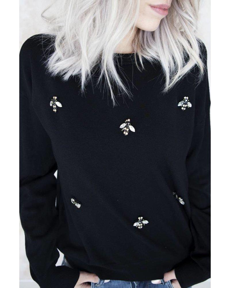 BEEAUTIFUL BLACK - SWEATER