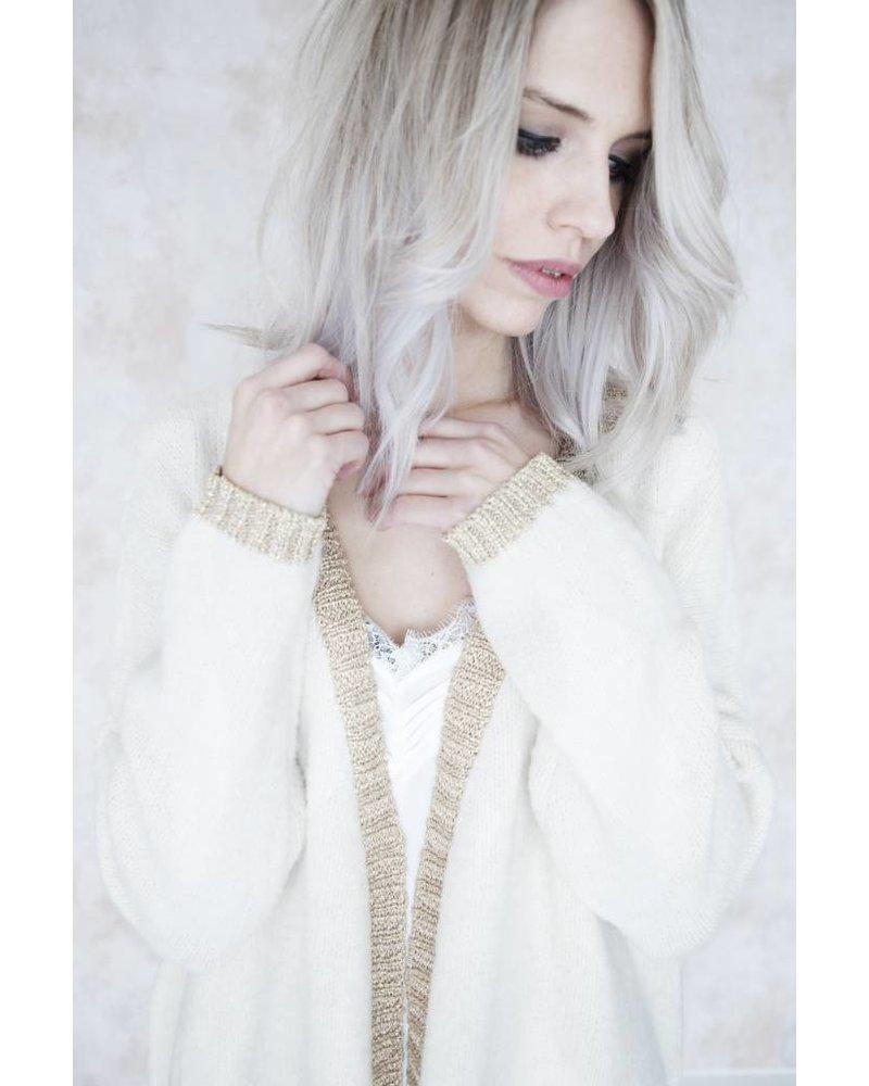 LAURANNE CREME - GILET