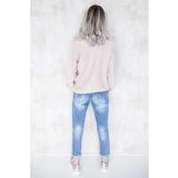 THE FLOWERED MOMMY - JEANS