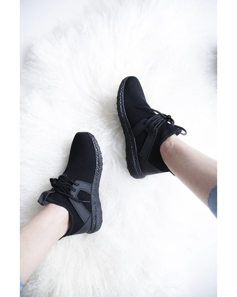COMFY ALL OVER BLACK - SNEAKERS