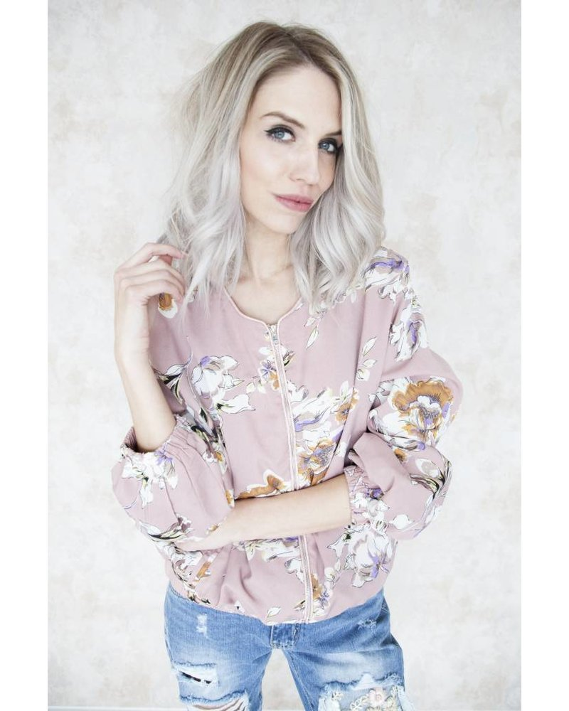 THE BLOSSOM PINK - JACKET