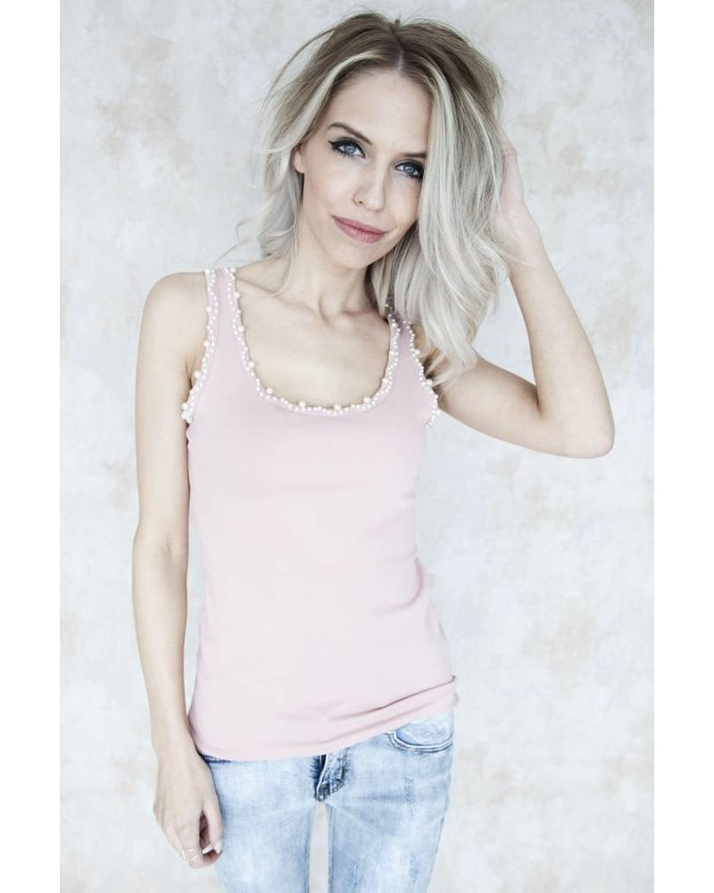 CUTE PEARLS PINK - TOP