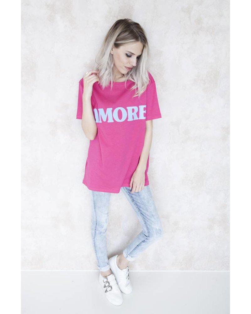 AMORE PINK - T-SHIRT