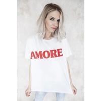 AMORE WHITE - T-SHIRT