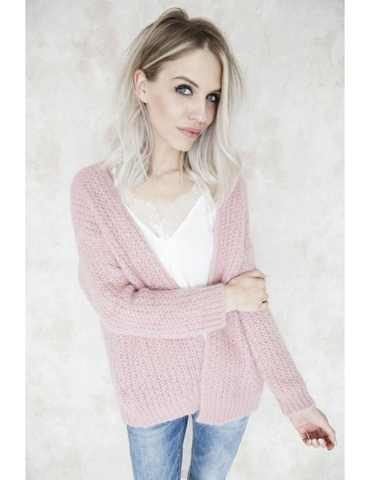 SPECIAL KNIT OLD PINK